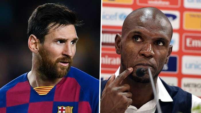 Messi, Eric Abidal