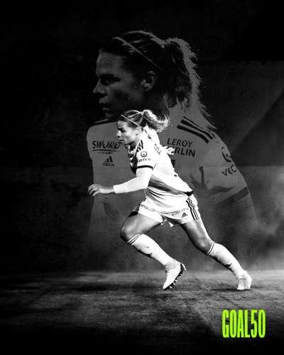 Eugenie Le Sommer Goal 50