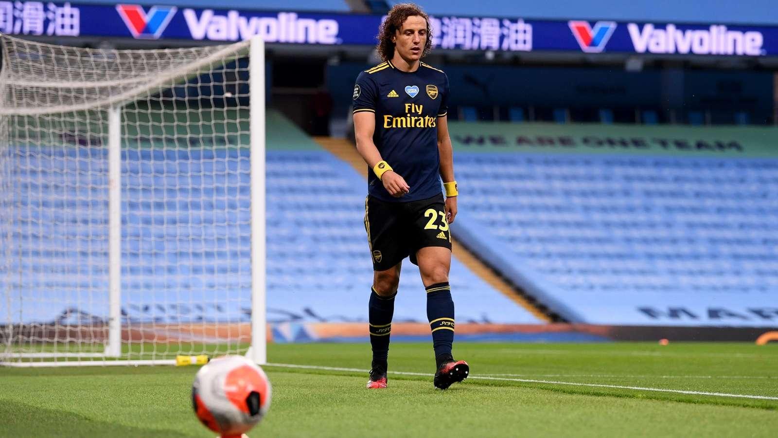David Luiz Arsenal 2020