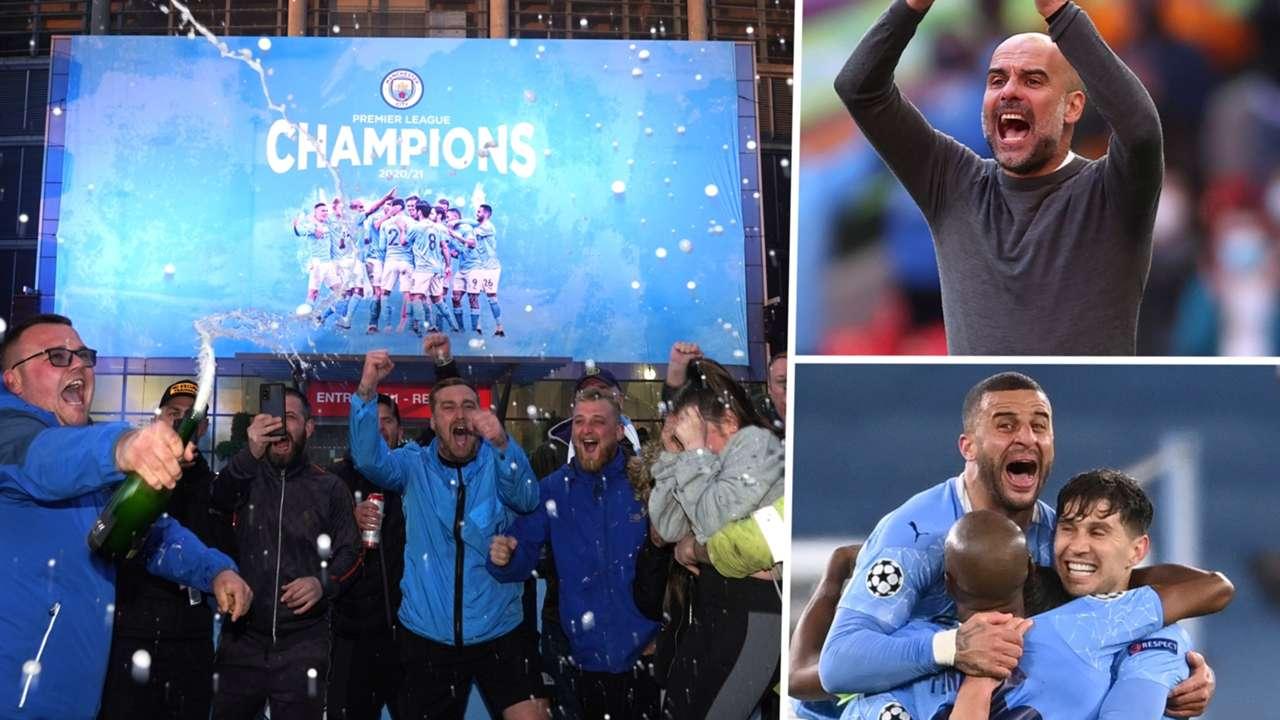 Manchester City celebrations GFX
