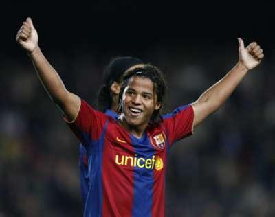 Giovani Dos Santos Barcelona Champions League