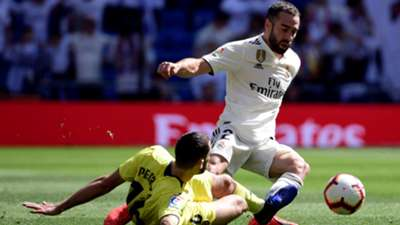 Dani Carvajal Alfonso Pedraza Real Madrid Villarreal LaLiga 05052019