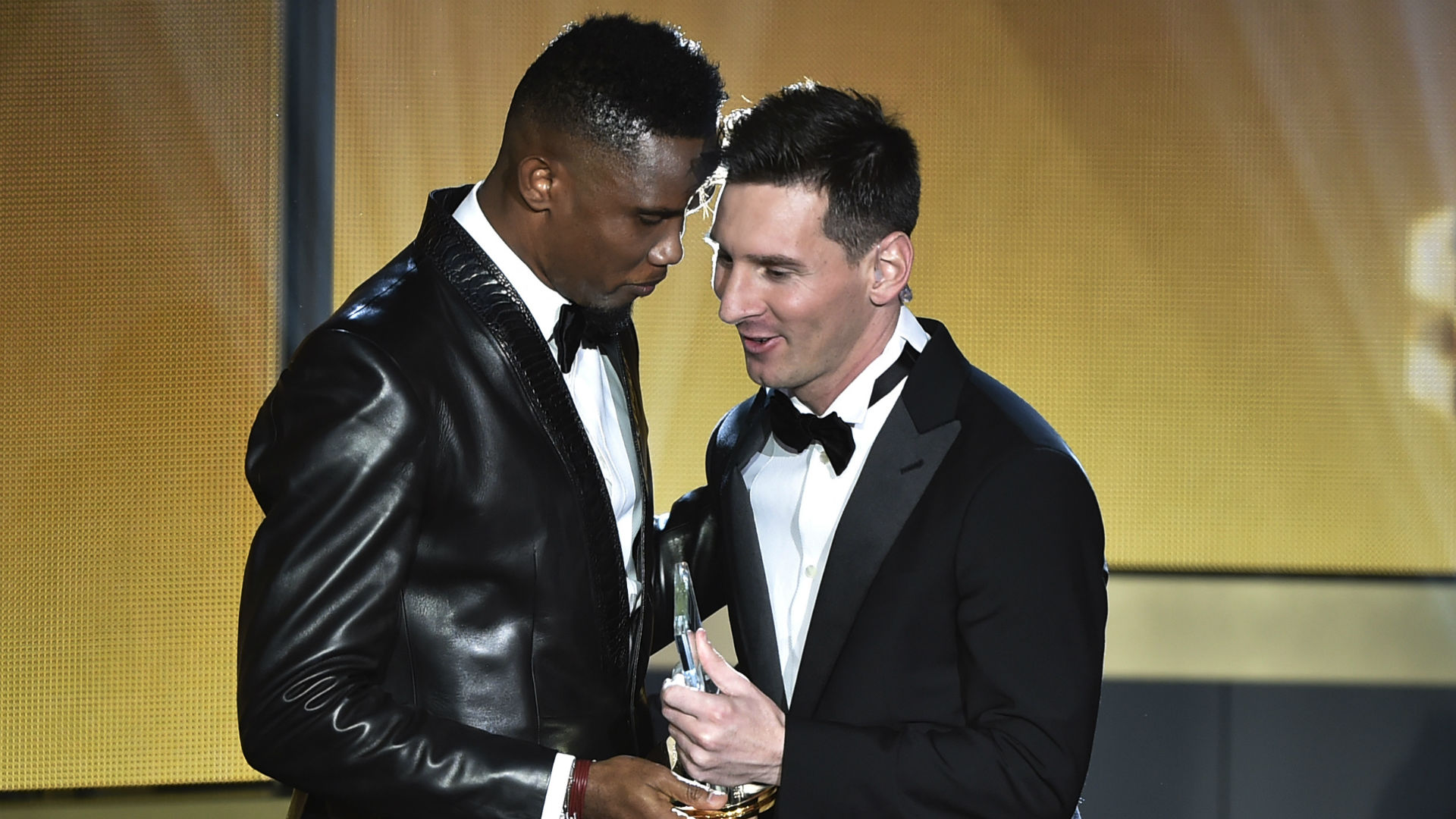 'Don't cry son' – Eto'o sends message to Messi after Barcelona exit