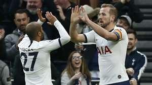 Lucas Moura Harry Kane Tottenham 2019-20