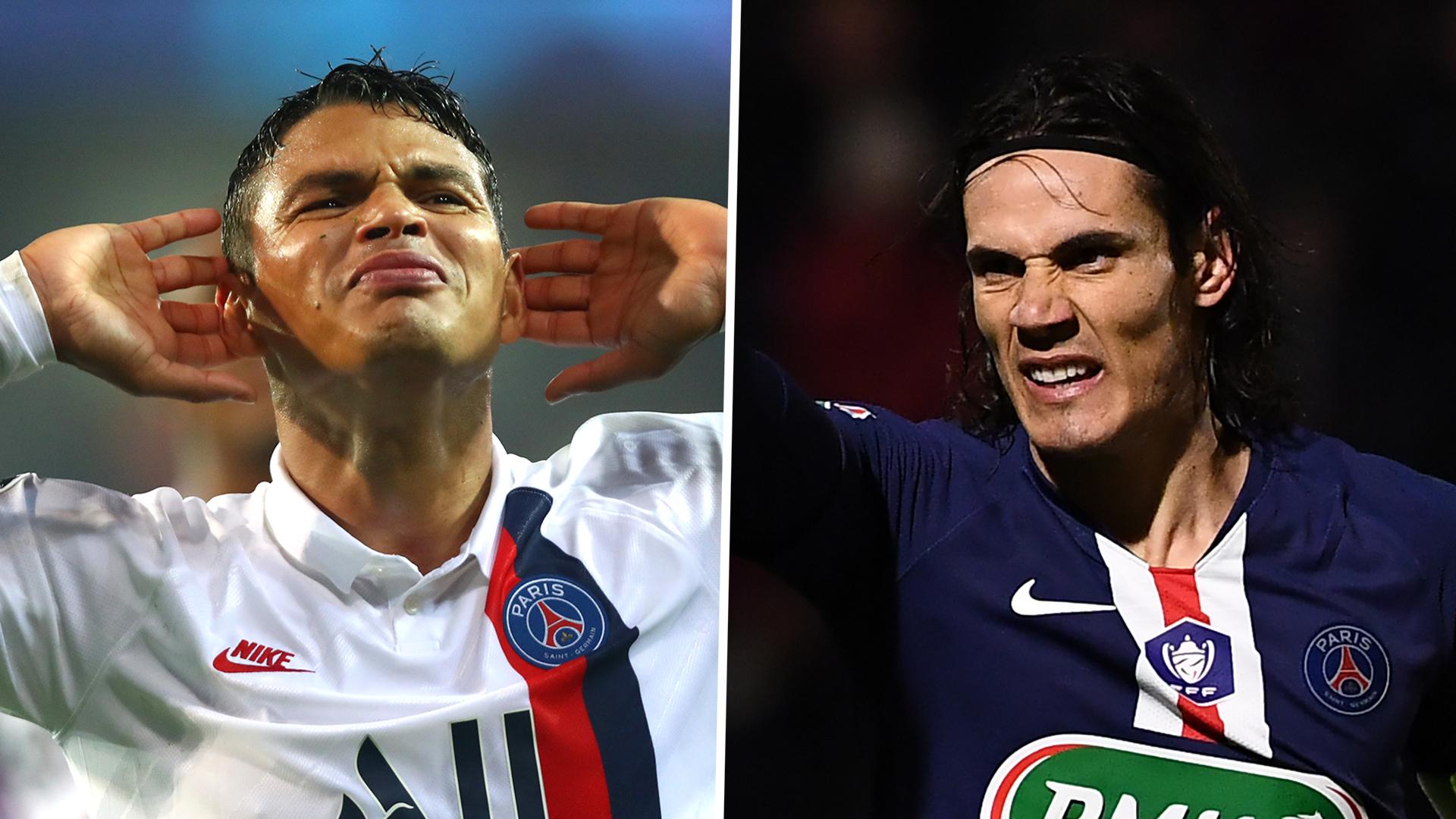 Cavani And Thiago Silva To Leave Psg This Summer Leonardo Confirms Goal Com