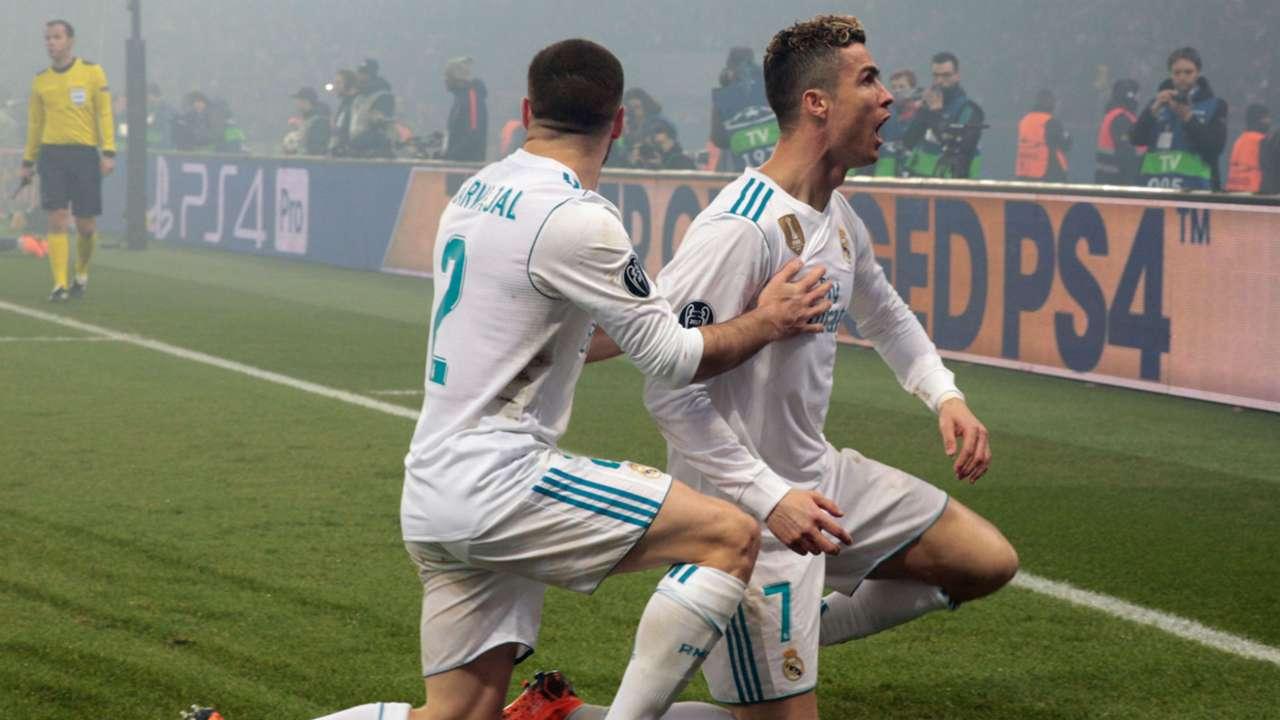 Cristiano Ronaldo PSG Real Madrid Champions League 06032018