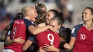 Norway women's national team 2018