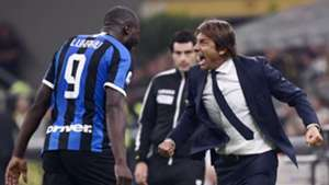 Romelu Lukaku Antonio Conte Milan-Inter