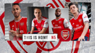 Arsenal home kit 2019-20