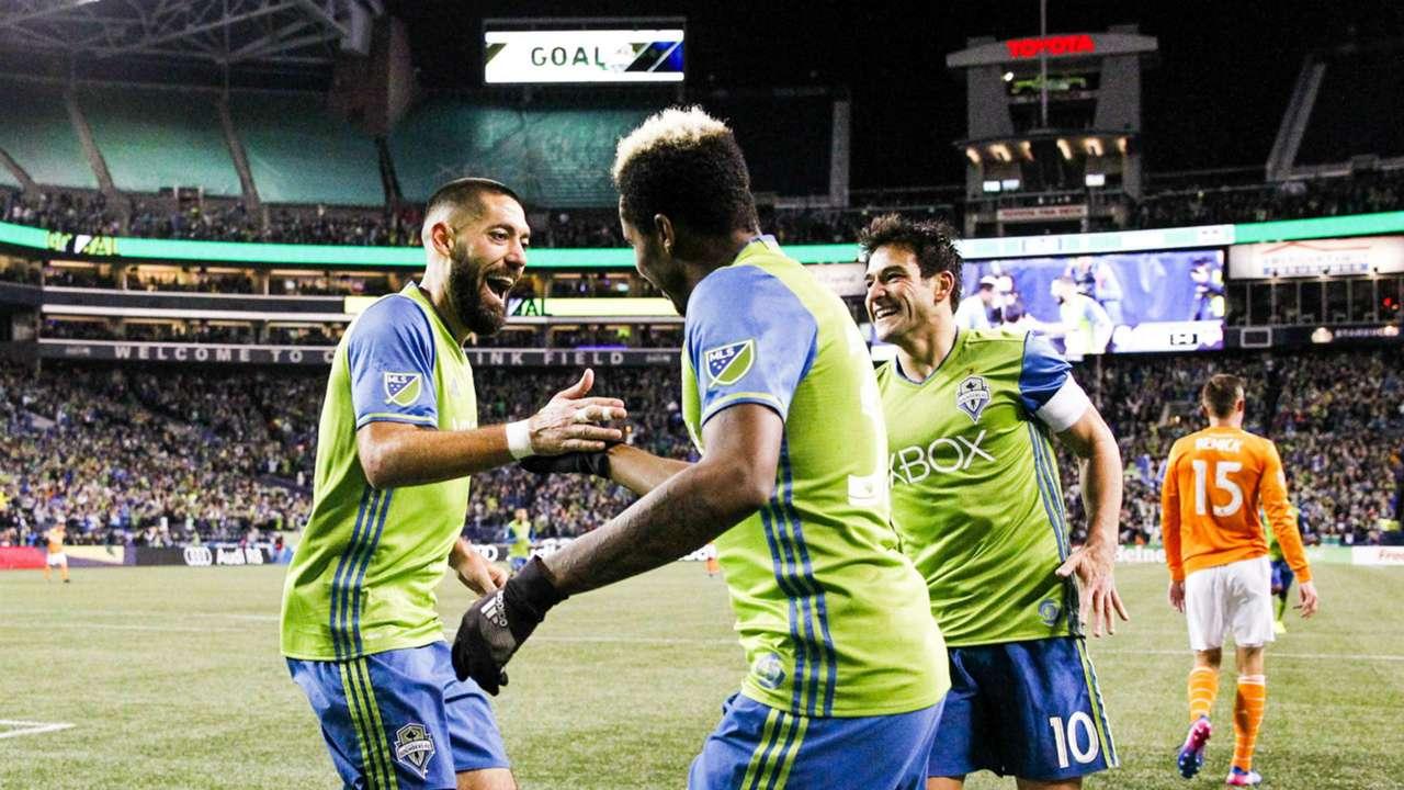 Joevin Jones Clint Dempsey Seattle Sounders MLS