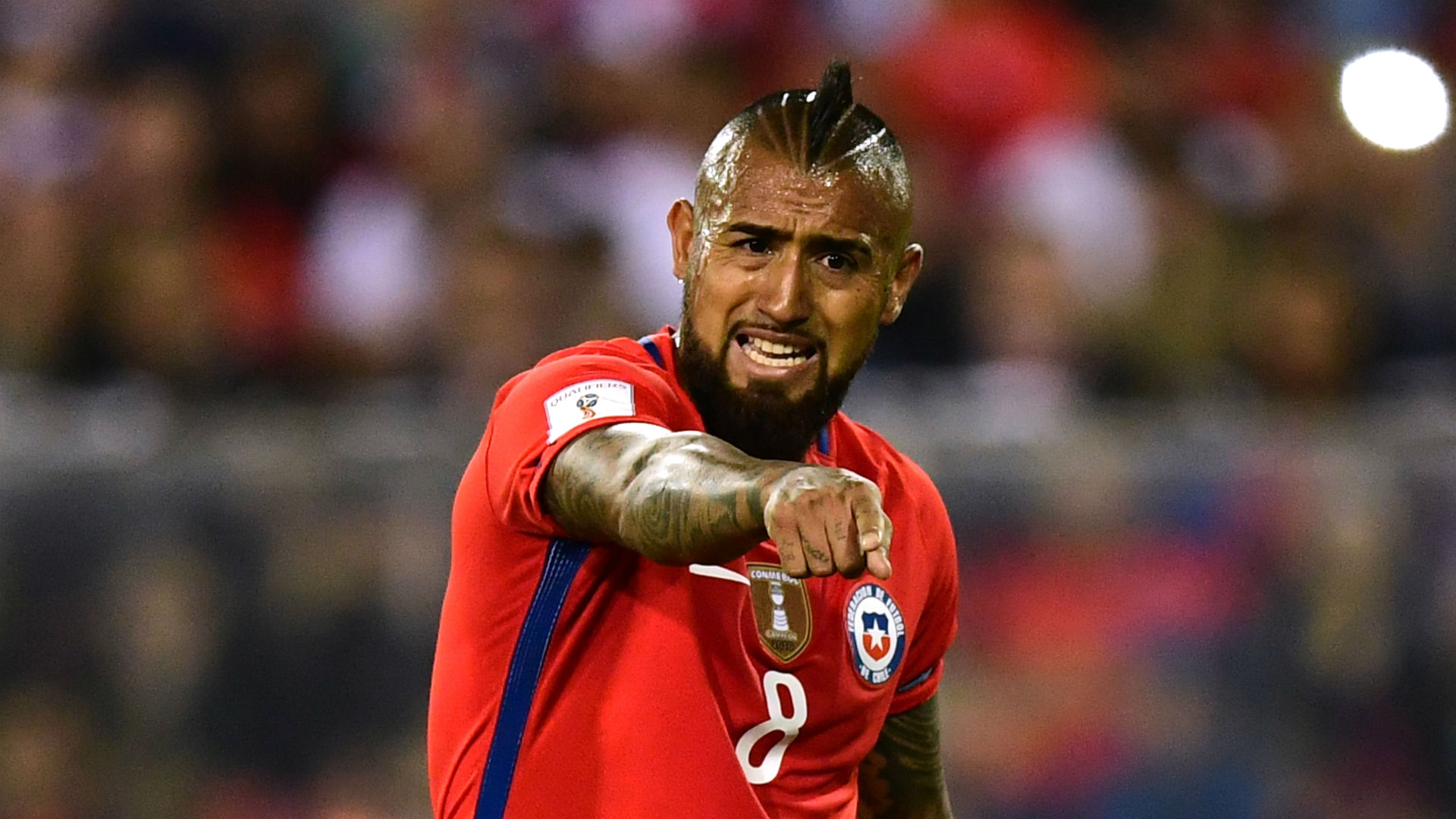 Arturo Vidal Chile World Cup qualifying