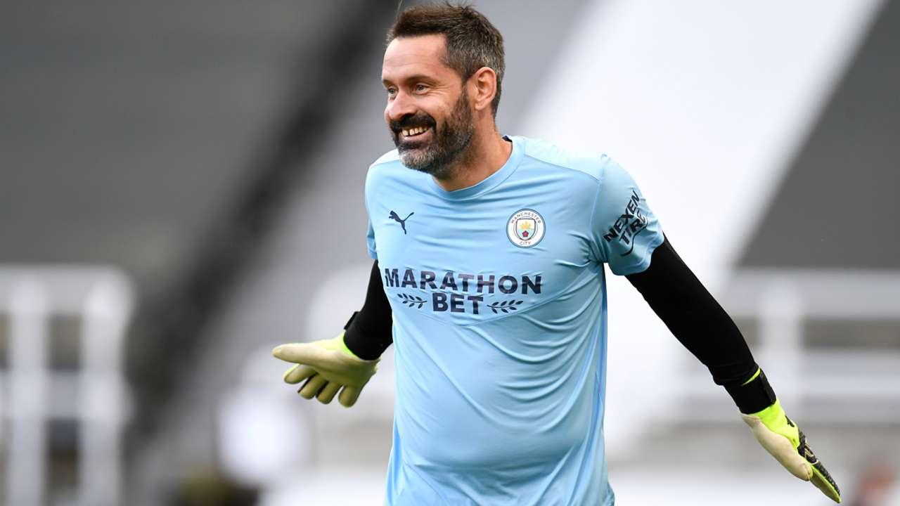 Scott Carson Manchester City 2020-21