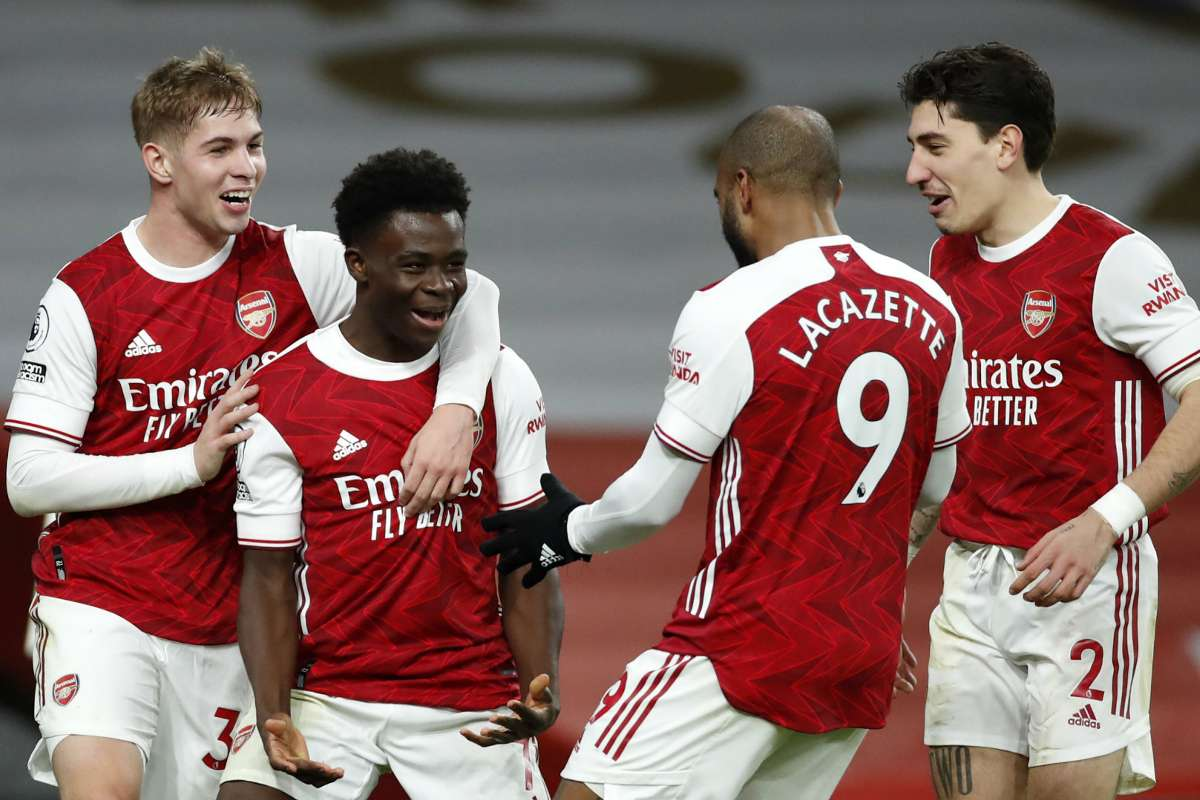 I thought I'd chip him' - Saka insists his Arsenal wonder goal against  Chelsea was a shot not a cross   Goal.com