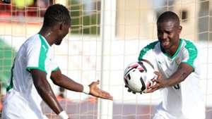 Assane Mbodj and Elhadji Moutarou Balde of Senegal