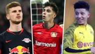 Timo Werner Kai Havertz Jadon Sancho Split
