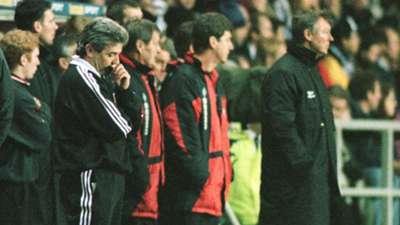 Kevin Keegan Newcastle United Alex Ferguson Manchester United 1995-96