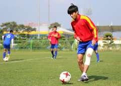 U20 Việt Nam Phan Thanh Hậu