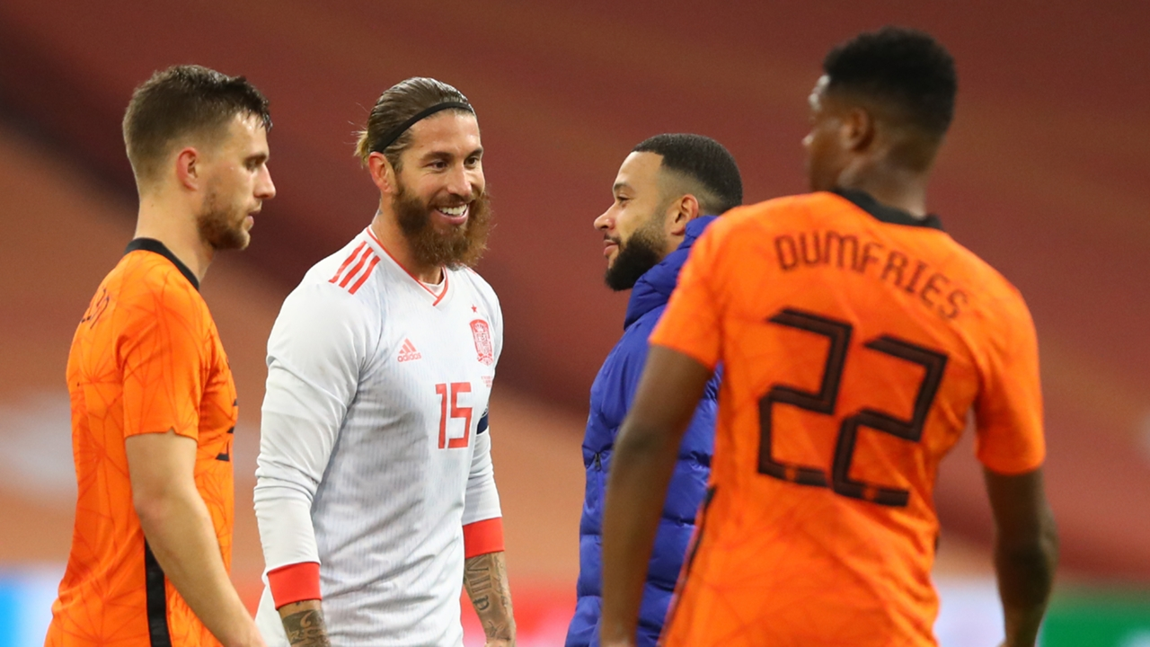 'Ramos is on a different level' - Spain boss Enrique pays ...