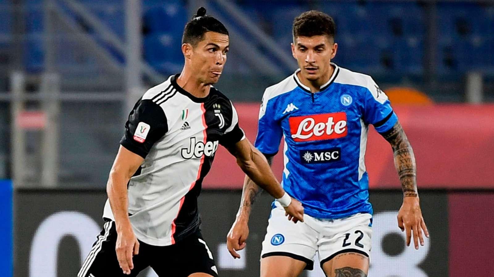 Ronaldo Napoli Juventus Coppa Italia