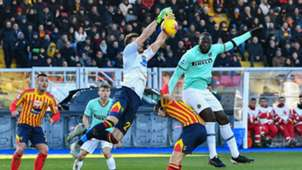 Romelu Lukaku Lecce Inter