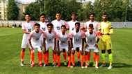India U-19 Tajikistan