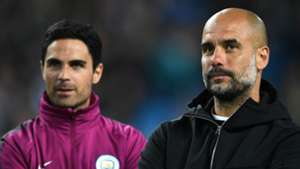 Guardiola 'pretty sure' Arteta will be his successor at Manchester City