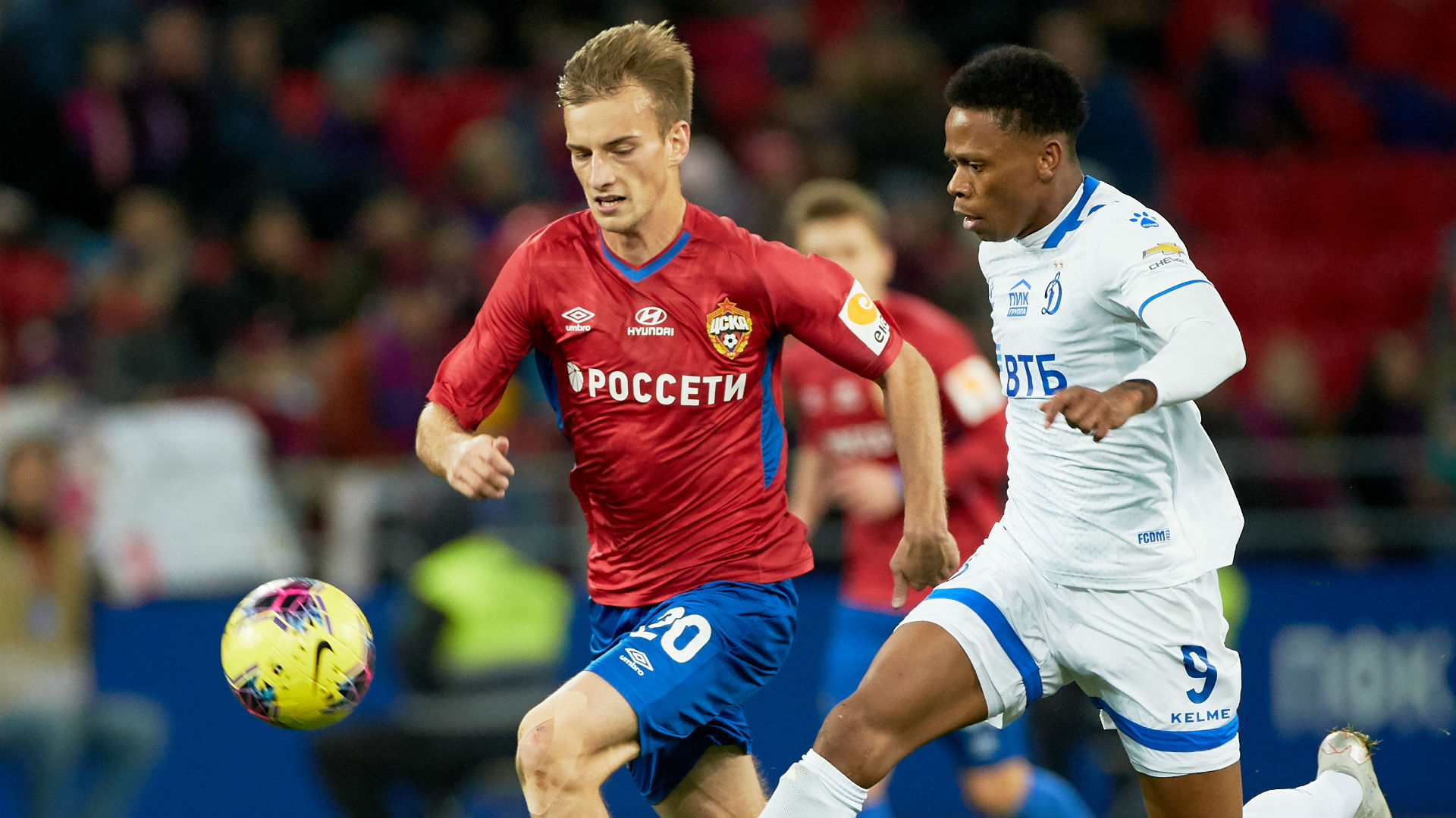 N'Jie on target as Dynamo Moscow hold FC Ufa