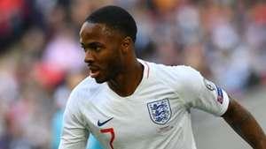 Raheem Sterling England 2019