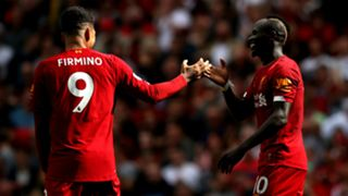 Roberto Firmino Sadio Mane Liverpool 2019-20