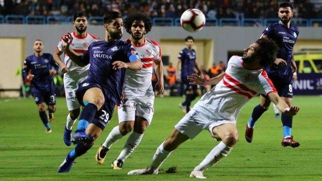 موعد مباراة الزمالك وبيراميدز اليوم في كأس مصر والقنوات الناقلة