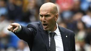 Zinedine Zidane Real Madrid 2018-19