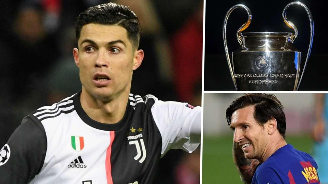 Cristiano Ronaldo Lionel Messi Champions League 2019-20