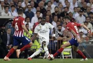 Vinicius Real Madrid Atletico Madrid 02/09/2018