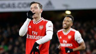 Ozil Aubameyang Arsenal 2020