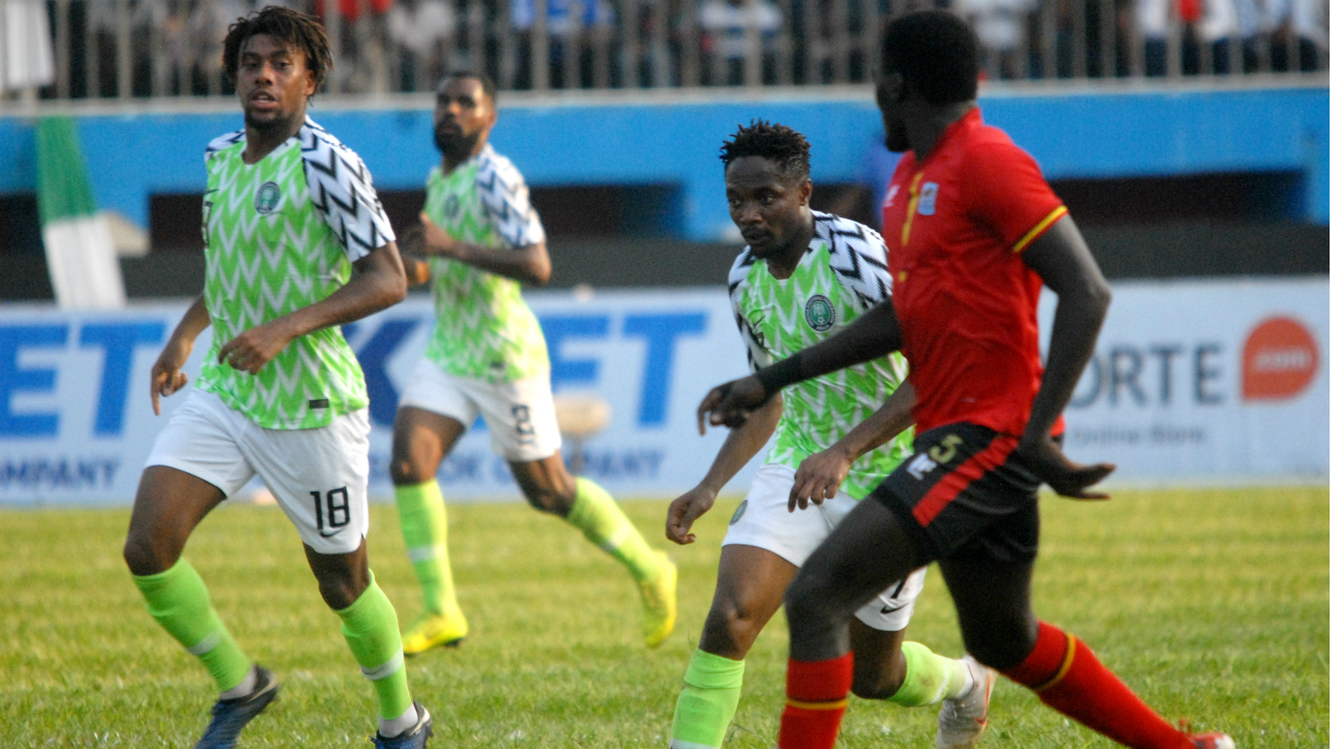 Iwobi and Super Eagles stars who must stand up ahead of Cameroon rematch