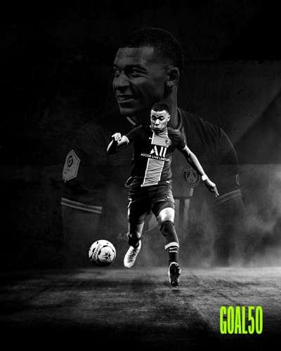 Kylian Mbappe Goal 50