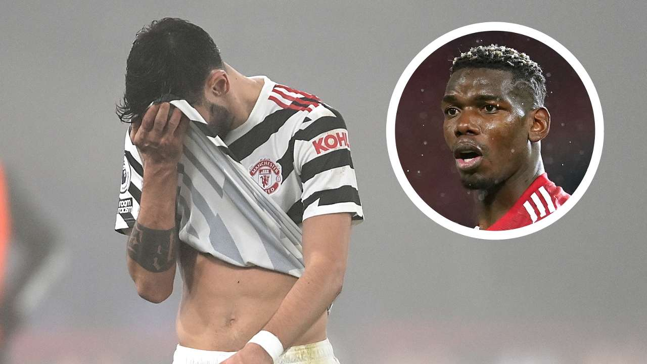Bruno Fernandes Paul Pogba Man Utd GFX