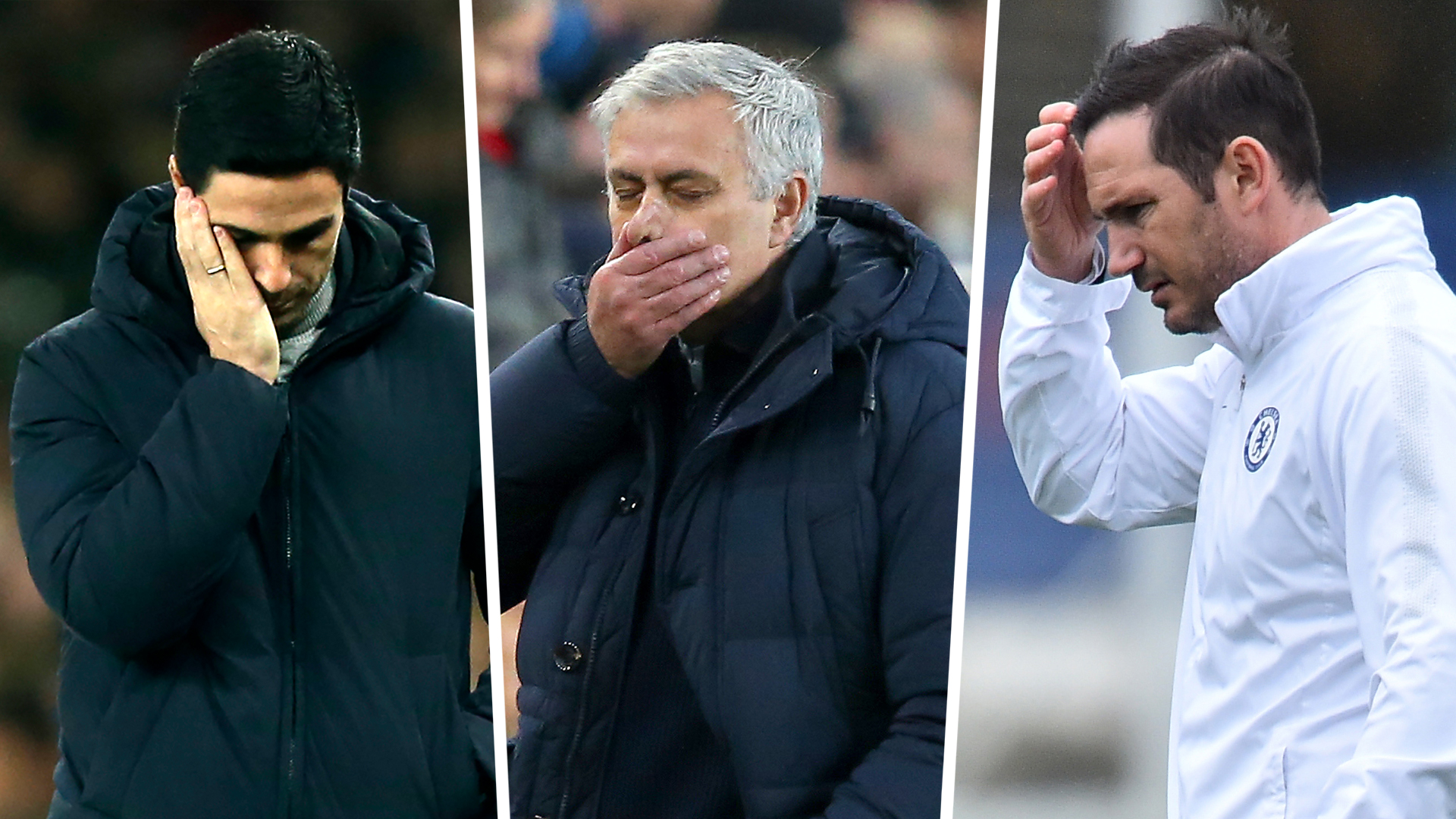 Arteta, Mourinho and Lampard need excruciating patience in this new age of the super club
