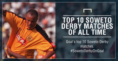 Top 10 Soweto Derby of all time PS