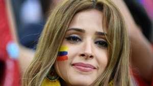 美女サポワールドカップ_コロンビアvsイングランド_コロンビア1