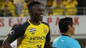 Kashiwa Reysol and Harambee Stars Kenya striker Michael Olunga.