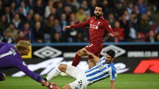 Mohamed Salah Liverpool Huddersfield 201018