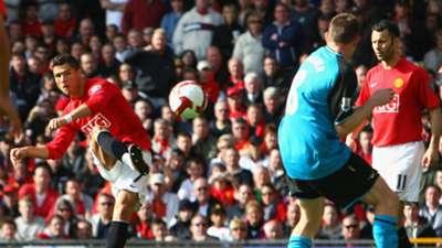 Ronaldo Man United Aston Villa