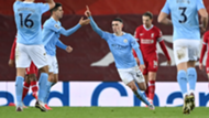 Phil Foden Manchester City Liverpool 2020-21
