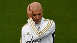 Zinedine Zidane, Real Madrid training
