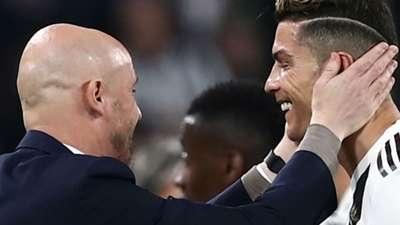 Ten Hag Cristiano Ronaldo Juventus Ajax Champions League