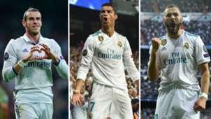 Bale/Ronaldo/Benzema split