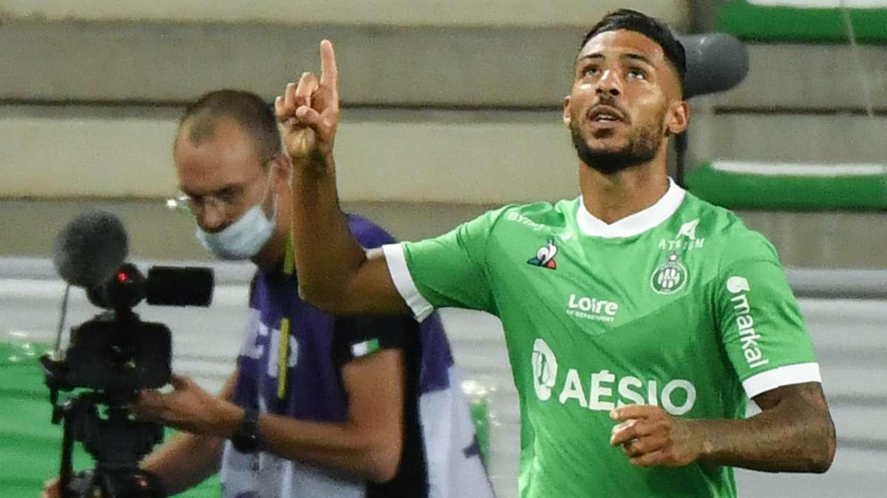 Denis Bouanga ASSE Strasbourg Ligue 1 12092020
