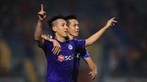 Do Hung Dung - Nguyen Van Quyet Ha Noi FC vs Sai Gon FC Round 13 V.League 2019