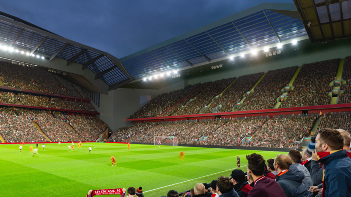 Liverpool's proposed new Anfield Road stand 2019
